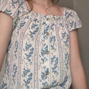Foral Blouse